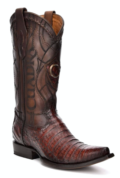 CUADRA MENS GENUINE FUSCUS BELLY LOMO BOOTS 2B1OFY LUMBER WHISKY