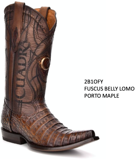 CUADRA MENS GENUINE FUSCUS BELLY LOMO BOOTS 2B1OFY PORTO MAPLE