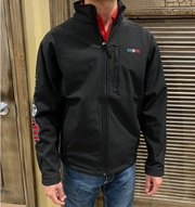 RESISTOL BLACK MEXICO SOFTSHELL - MENS JACKET - R4A008-472677