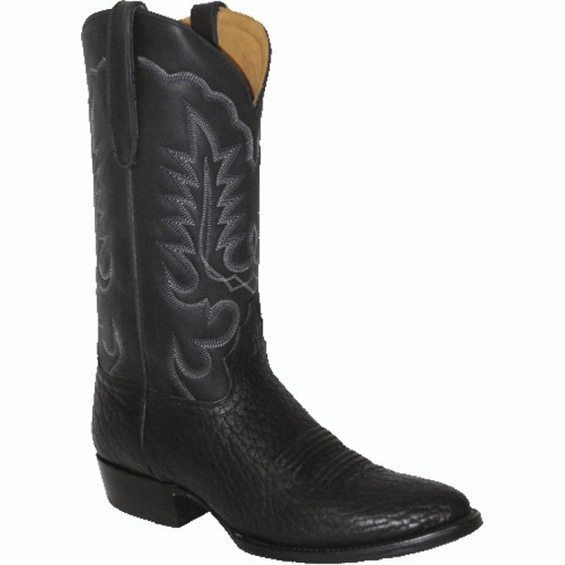 "Star Boots 13"" Black Bull Hide M6950"