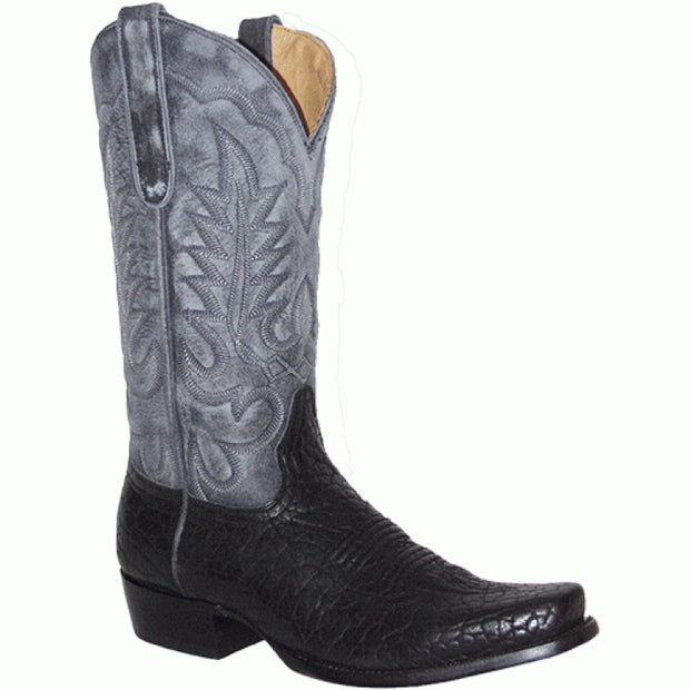 "Star Boots 13"" Black Bull Hide M6960"