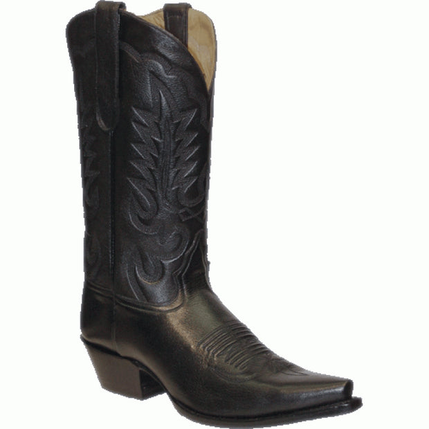 "Star Boots 13"" Black Cowboy Boot M7000"