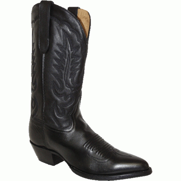 "Star Boots 13"" Black Cowboy Boot M7004"