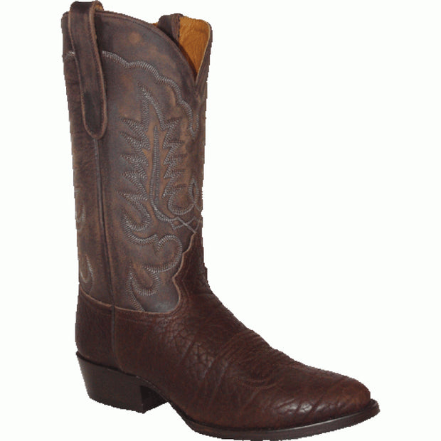 "Star Boots 13"" Brown Bull Hide M6951"