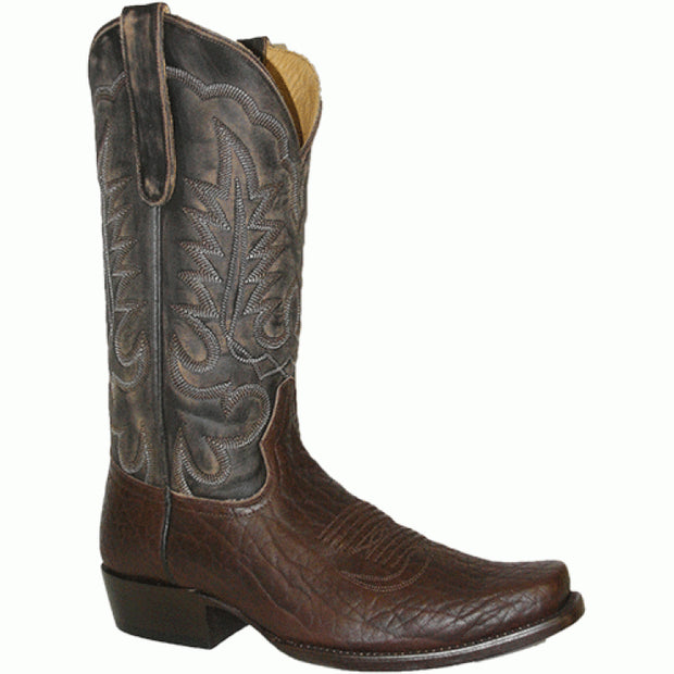 "Star Boots 13"" Brown Bull Hide M6961"