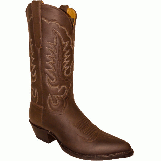 "Star Boots 13"" Brown Crazy Horse Cowboy M7011"