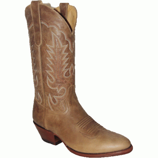 "Star Boots 13"" Brown Pull Up Cowboy M7046"