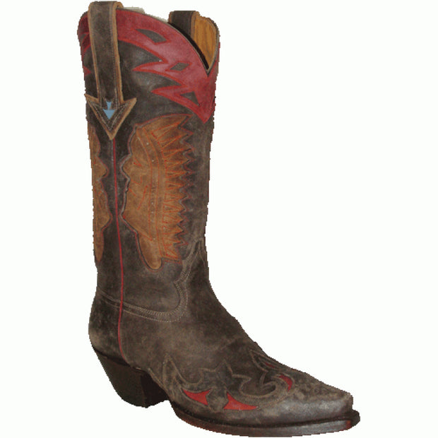 "Star Boots 13"" Indian Head Boot M7144"
