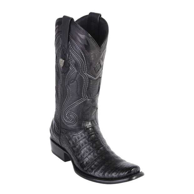 MEN'S WILD WEST BOOTS CAIMAN TALL DUBAI BLACK