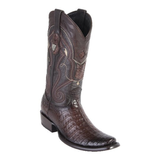 MENS WILD WEST BOOTS CAIMAN TALL DUBAI	FADED BROWN