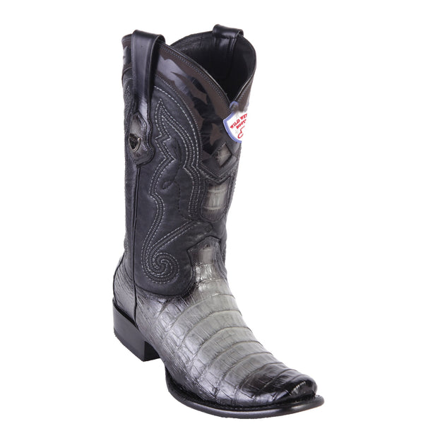 MENS WILD WEST BOOTS CAIMAN TALL DUBAI FADED GRAY