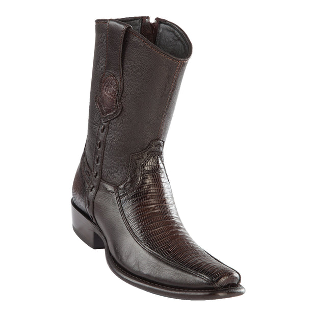Men's Dubai Short Boot LIZARD BROWN