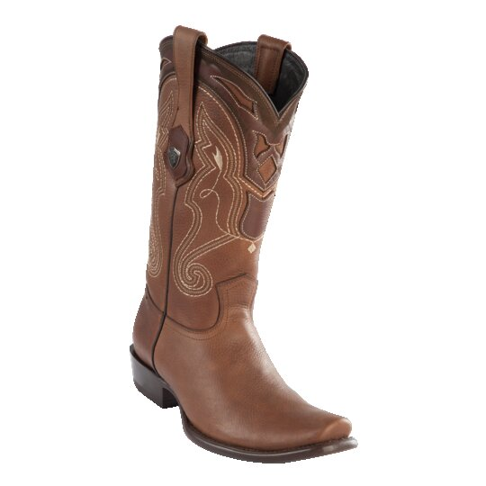 MENS WILD WEST BOOTS DEER TALL DUBAI HONEY