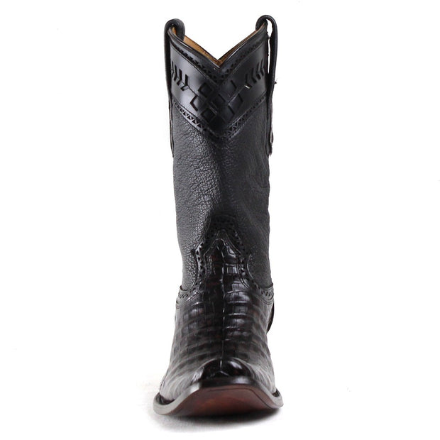 1J30FY Cuadra Mens Alligator Boots