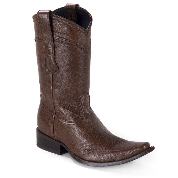Cuadra Mens Deer Italian Boots Honey 1B24VE