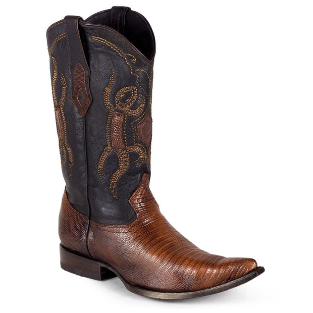 Y3lztj Cuadra Cowboy Boots Flame Honey