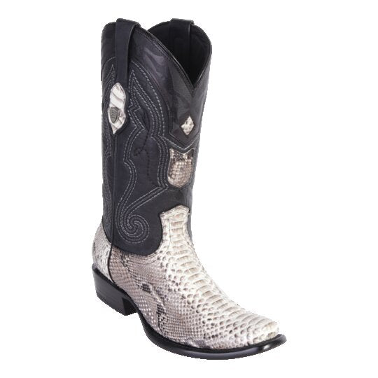 MEN'S WILD WEST BOOTS PYTHON TALL DUBAI NATURAL