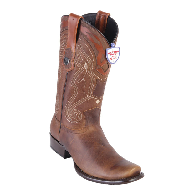 MENS WILD WEST BOOTS DEER TALL DUBAI WALNUT