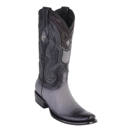 MEN'S WILD WEST BOOTS SHARK TALL DUBAI FADED GRAY