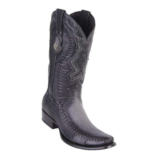 MEN'S WILD WEST BOOTS SHARK/DEER TALL DUBAI FADED GRAY