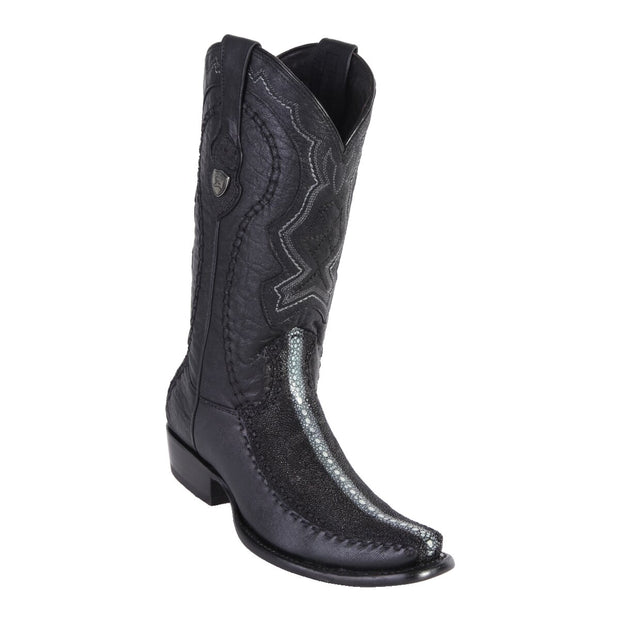 MEN'S WILD WEST BOOTS STINGRAY/DEER TALL DUBAI ROWSTONE