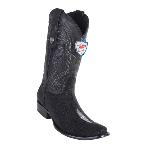 MEN'S WILD WEST BOOTS STINGRAY TALL DUBAI SINGLE STONE