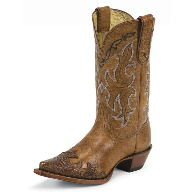 TONY LAMA WOMEN'S BOOTS #VF6003 DASAH TAN