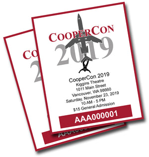 General Admission Ticket CooperCon 2019