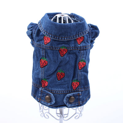 Pet Dog Cat Jeans Jacket - Petz Emporium