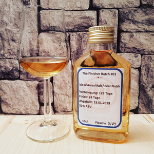 Tasting Notes #024: Arran The Bothy vs. Bier Finish