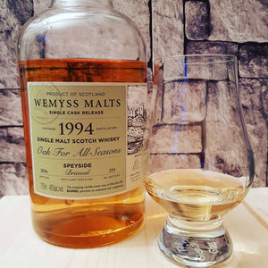 "Tasting Notes #034: Braeval ""Oak for all Seasons"" (Wemyss)"