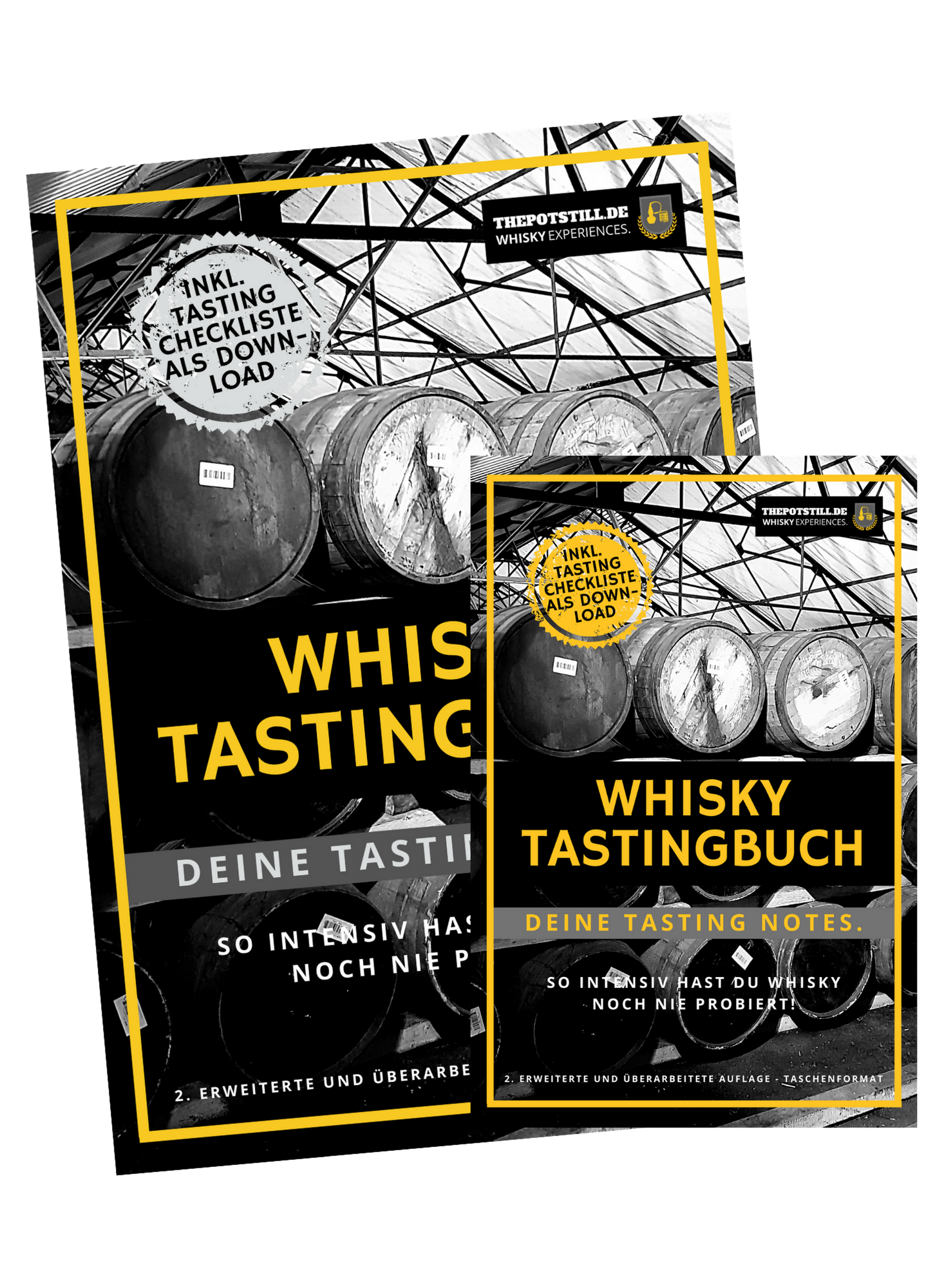 GRATIS: Whisky Tastingbuch. So intensiv hast Du Whisky noch nie probiert! - The Pot Still