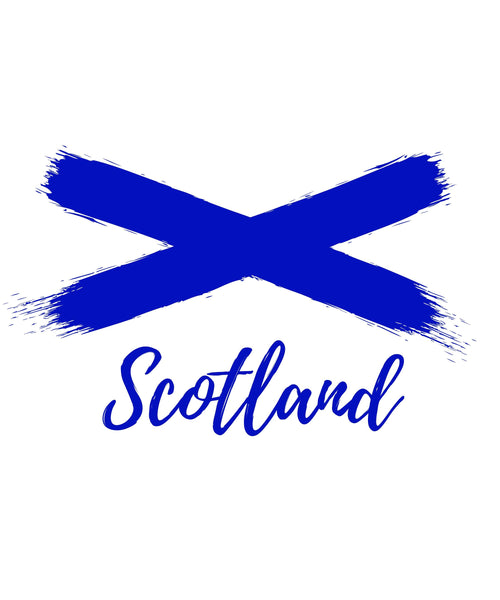 Scotland Saltire (weiß) - The Pot Still
