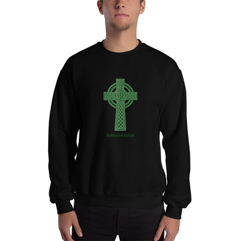 Heritage of Scotland Celtic Cross (black/green) - The Pot Still