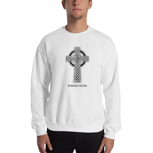 Heritage of Scotland Celtic Cross (black/white) - The Pot Still