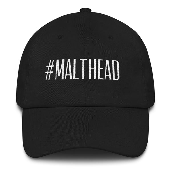 Malthead Cap (black/gold - black/white)