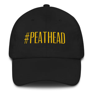 Peathead Cap (black/gold - black/white) - The Pot Still