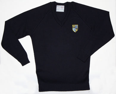 Claverham V-Neck Boys Jumper