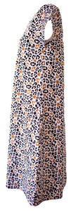 Loop of the Day Animal Spot Swing Dress