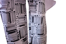 Load image into Gallery viewer, Perfectly Polished Write Stuff Print Capri Trousers