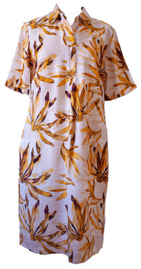 Sunflower Shirt Dress