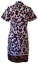 Load image into Gallery viewer, Zebra Border Safari Dress