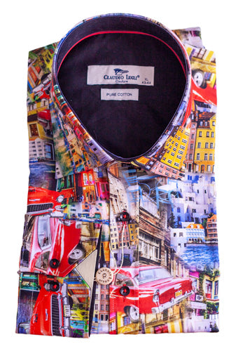 Cityscape Long Sleeve Shirt