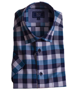 Drifter Geneva/Giovanni Checked Short Sleeve Shirt