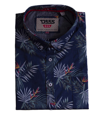 Reuben King Size Hawaiian Short Sleeve Shirt