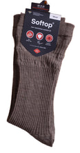 Load image into Gallery viewer, HJ Wool Rich Men's Softtop Socks