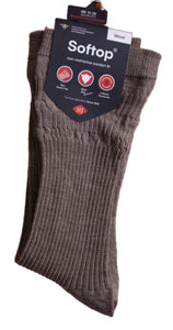 HJ Wool Rich Men's Softtop Socks