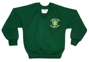 St. Peter & Paul V Neck Sweatshirt