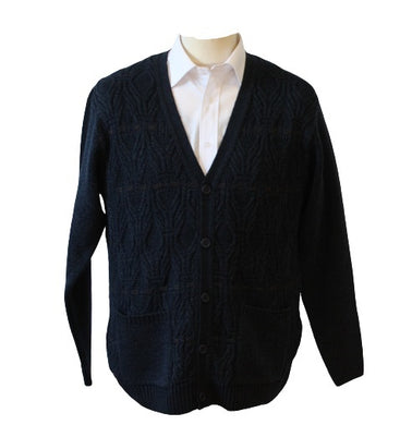 Wellington Cable Knit Cardigan