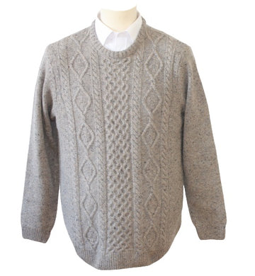 Peter Gribby Aran Cable Knit jumper